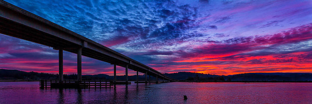 Catching Slough Sunrise by Robert Bynum
