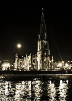 Cathedral at nine fifteen by Tony Reddington