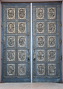 Robert Meyers-Lussier - Cathedral Basilica of St Francis of Assisi Bronze Door