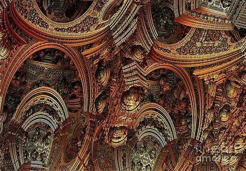 Cathedral ceiling by Bernard MICHEL
