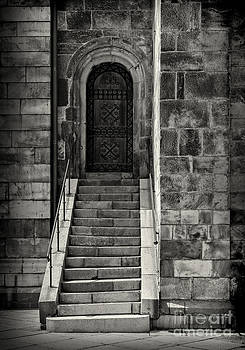 Sophie McAulay - Cathedral door and steps