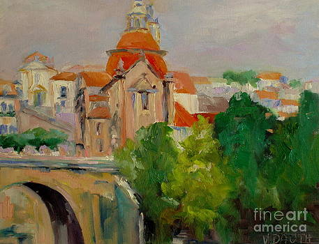 Cathedral in Portugal by Virginia Dauth