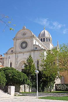 Cathedral in Sibenik by Borislav Marinic