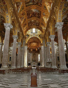 Herb Paynter - Cathedral Interior