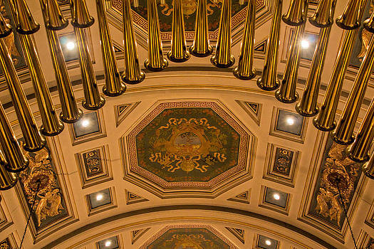 Jemmy Archer - Cathedral of the Sacred Heart Ceiling