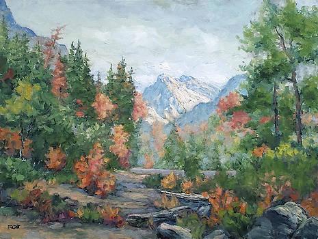 Cathedral Peak Yosemite by Lynn T Bright