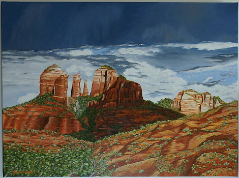 Cathedral rock by Paul Santander
