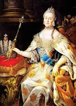 Catherine the Great 1760 by Li   van Saathoff
