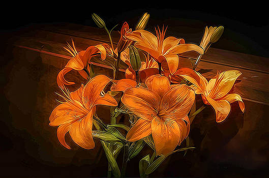 Catherine's Lillies by Dave McGregor