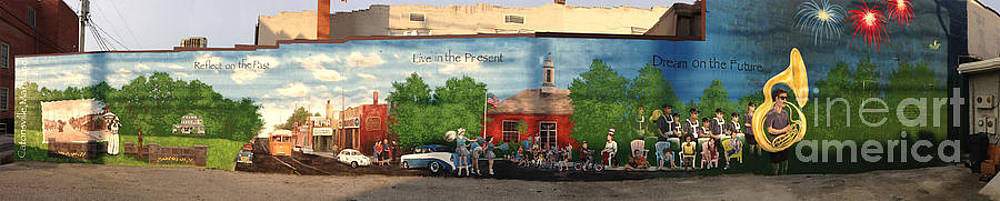 Catonsville Community Mural by Edward Williams