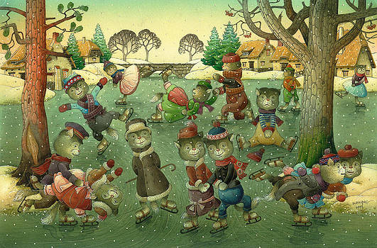 Kestutis Kasparavicius - Cats on Skates