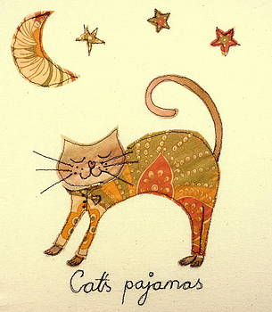 Cats pajamas by Hazel Millington