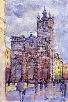 Cattedrale di Genova by Luca Massone