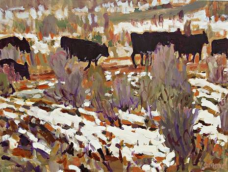 Cattle by Brian Simons