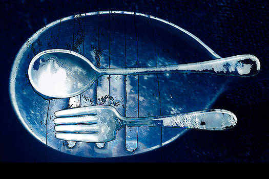 Blue Luster by Don Gradner