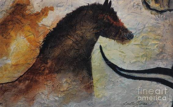 Cave Painting by Lorelle Gromus