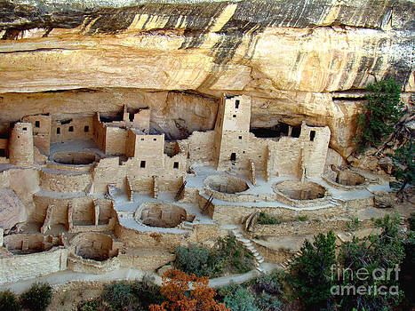 Cave Palace at Mesa Verde by Eva Kato