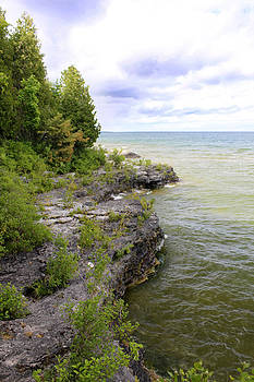 Cave Point by Kathy Weigman