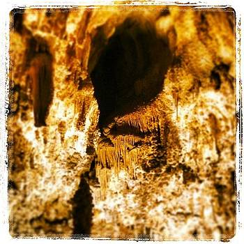Cave Textures Ii by Paula Manning-Lewis