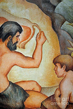 Jost Houk - Caveman and Child