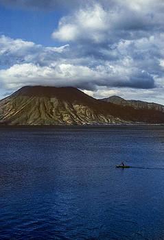 Cayuco on Lake Atitlan by Tina Manley