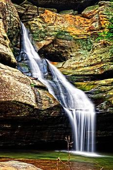 Cedar Falls Hocking Hills by Cheryl Cencich