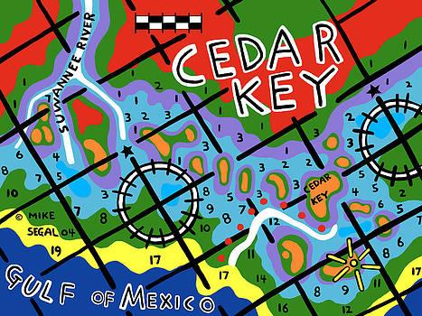 Cedar Key Chart by Mike Segal