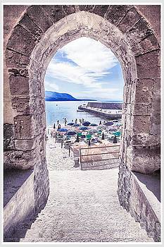 Cefalu beach by Stefano Senise