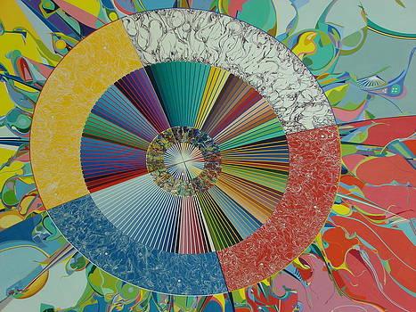 Ceiling Mural Excerpt 2 by Jeffrey Cohen
