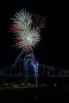 David Hahn - Celebration at the Ben Franklin Bridge