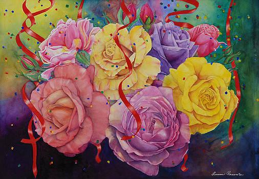 Celebration of Roses by Luane Penarosa