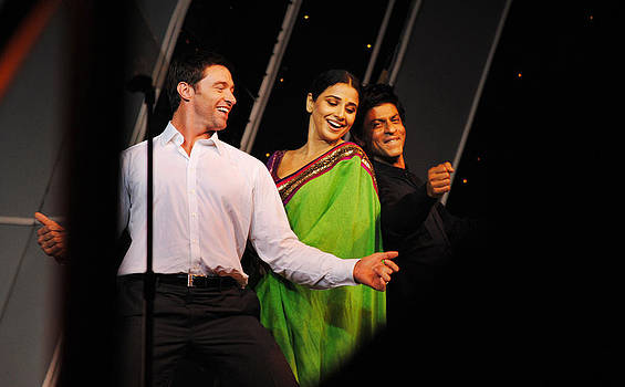 Celebrities on the floor by Money Sharma