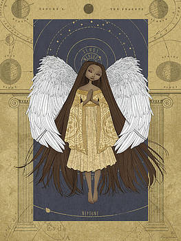 Celestial Angel by Karyn Lewis Bonfiglio