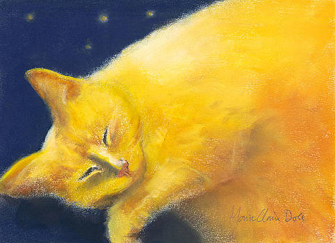 Celestial Cat by Marie-Claire Dole