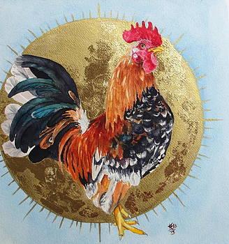 Celestial Chicken Brutus by Kirsten Beitler