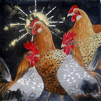 Celestial Chicken I by Kirsten Beitler