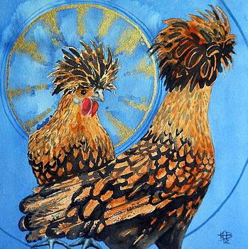 Celestial Chicken II by Kirsten Beitler