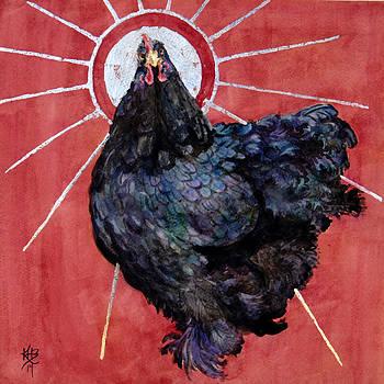 Celestial Chicken IX by Kirsten Beitler