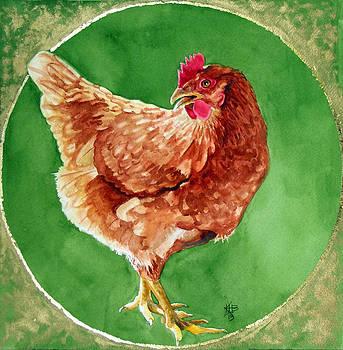Celestial Chicken VII by Kirsten Beitler