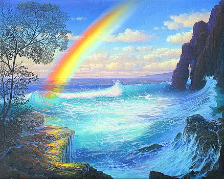 Celestial Cove Breakers by Loren Adams