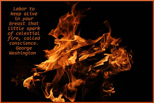 Celestial Fire by April Wietrecki Green