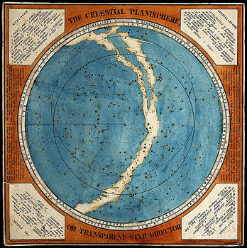 Wellcome Images - Celestial Planisphere 1777