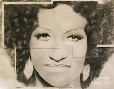 Celia Cruz by Adrian Pickett