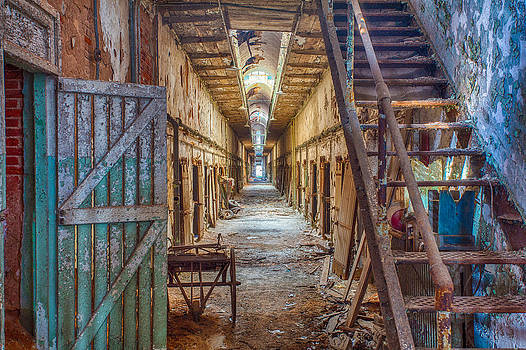 Cell Block in Ruins by John Dryzga