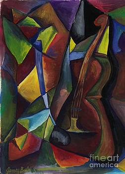 Cello and Plant  by Jamey Balester