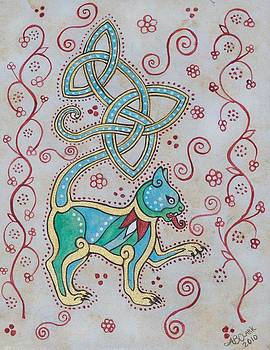 Celtic Cattus by Beth Clark-McDonal