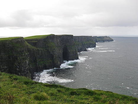 Celtic Cliffs by Barbara Von Pagel