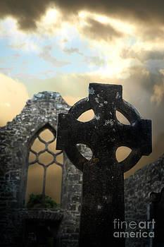 Celtic Cross in Ireland by Mark Fearon