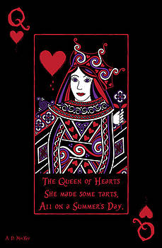 Celtic Artist Angela Dawn MacKay - Celtic Queen of Hearts Part I