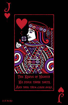 Celtic Artist Angela Dawn MacKay - Celtic Queen of Hearts Part II The Knave of Hearts